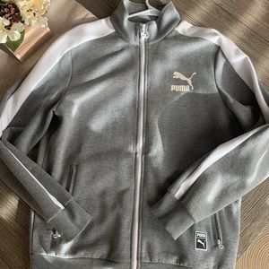 Men's Puma zip up sweatshirt.